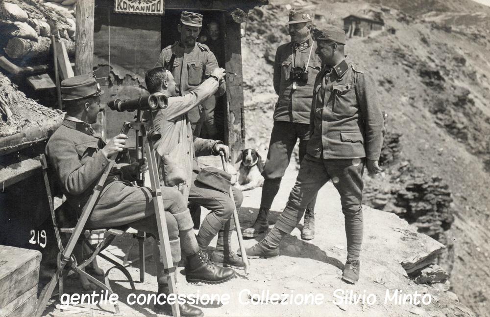 Comando austroungarico in alta montagna