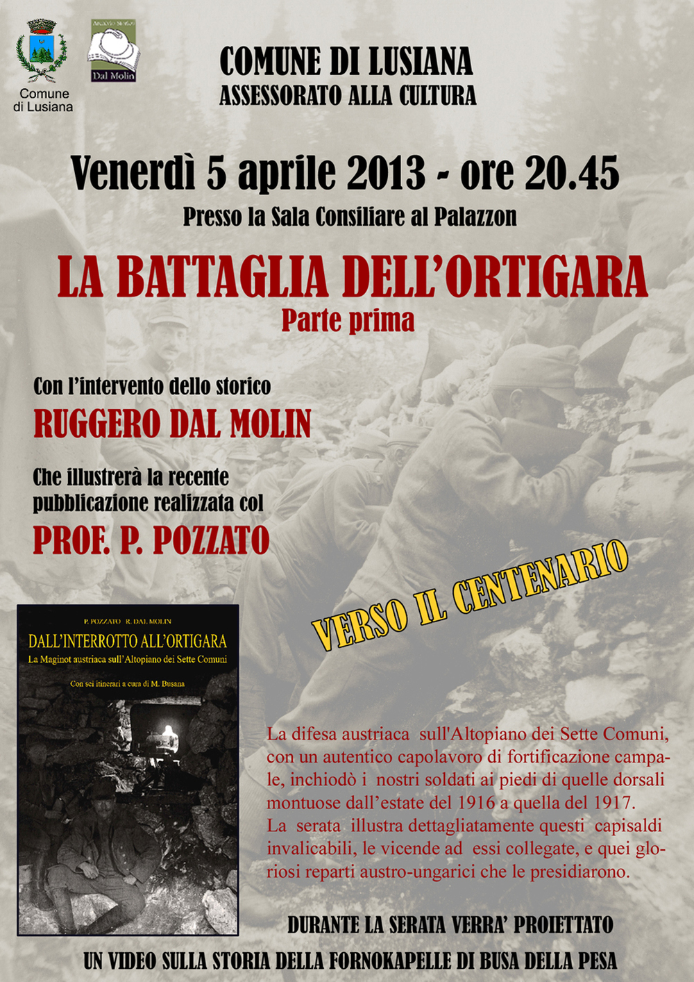 locandina  x Lusiana - Battaglia dell'Ortigara -  Parte I.jpg