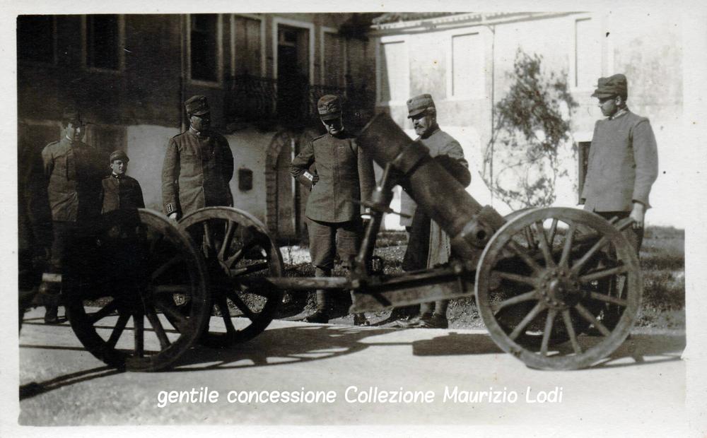 Il Duca d'Aosta a Gorizia dopo la VI^ battaglia dell'Isonzo
