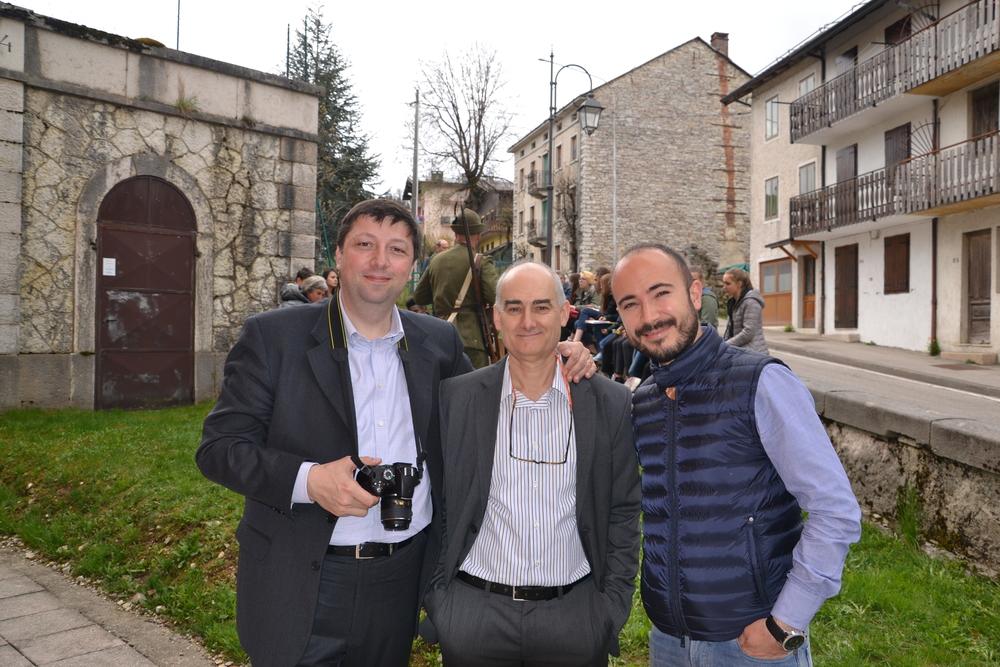 Stefano Aluisini, Ruggero Dal Molin, Alberto Cabboi (Cesuna)