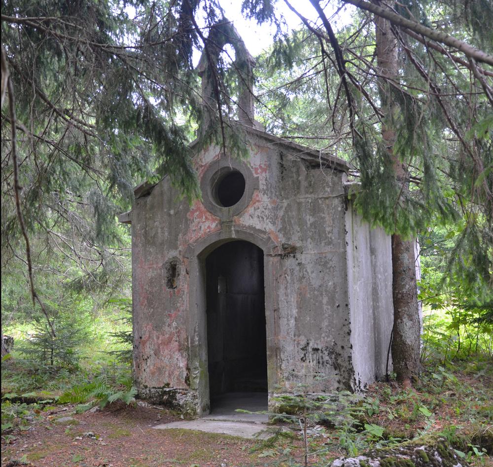 La Cappella di Monte Cifri oggi