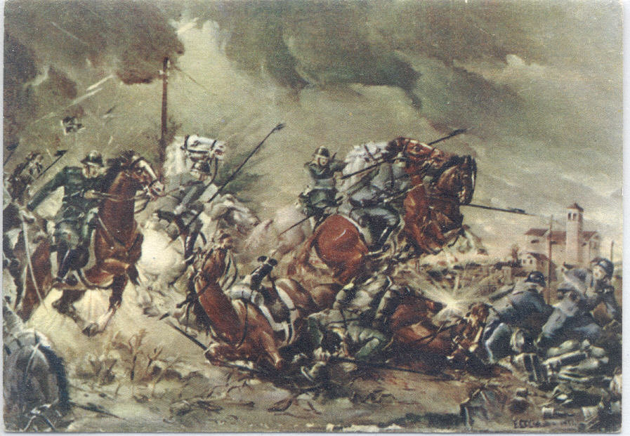 La disperata carica della Cavalleria italiana a Pozzuolo del Friuli, il 29 e 30 ottobre 1917