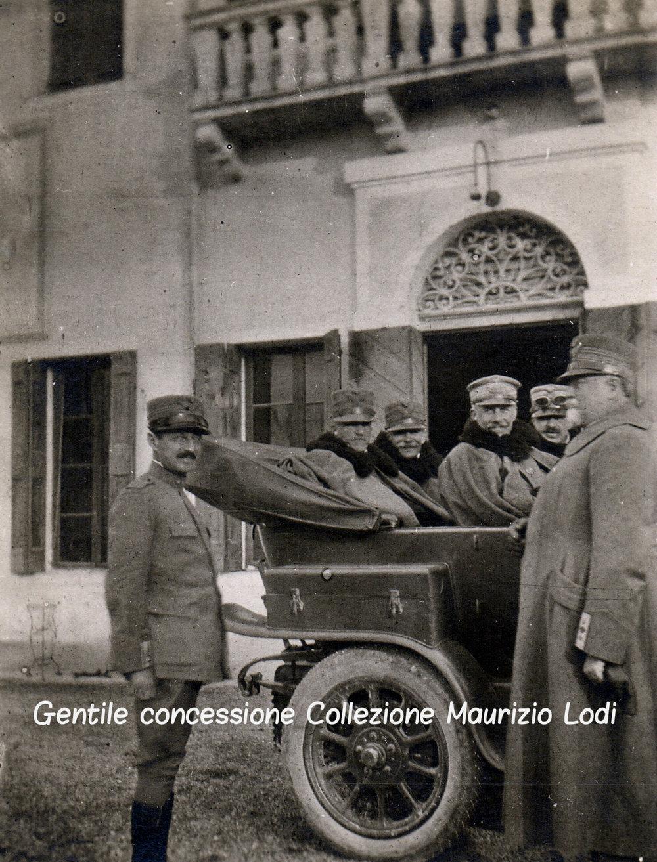 Passariano di Codroipo 20 10 1916 passaggio Re verso linee dopo 8a batt isonzo (c).jpg