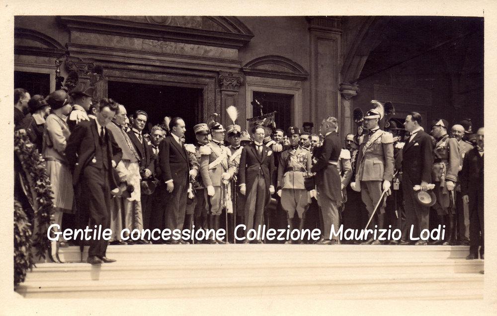 2 5 giu 1927 adalberto savoia duca bergamo cerim pantheon caduti gg e parco rimembranza C.jpg
