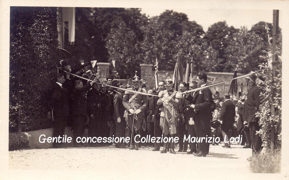 3 5 giu 1927 adalberto savoia duca bergamo cerim pantheon caduti gg e parco rimembranza C.jpg