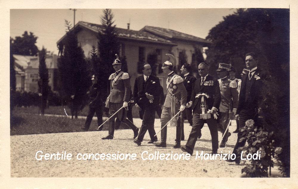 6 5 giu 1927 adalberto savoia duca bergamo cerim pantheon caduti gg e parco rimembranza C.jpg