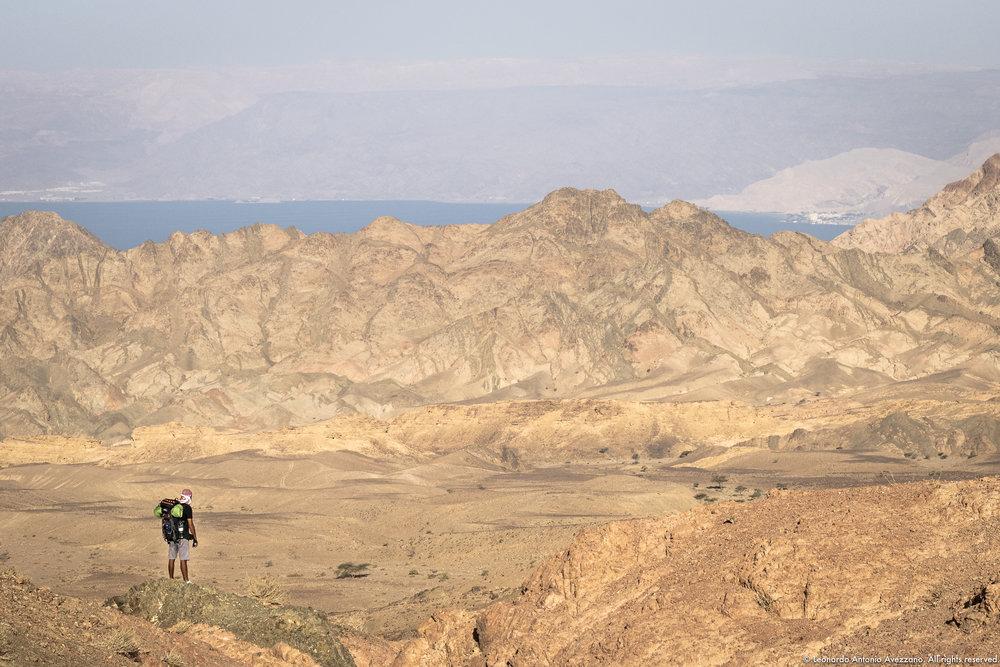 Overlook on Aqaba's Gulf - Jordan, April 2018 - © Leonardo Antonio Avezzano. All rights reserved.