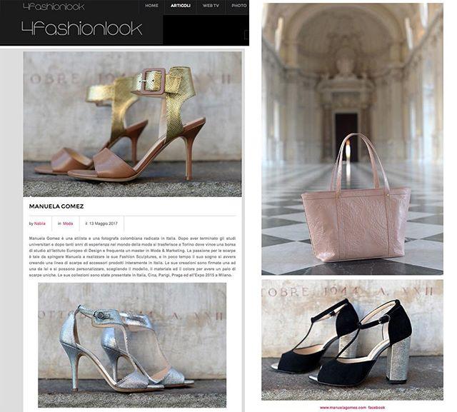 @4fashionlook parla di noi! ❤️ #editorial #handmadeinitaly #lovemyjob #interview #colombiandesigner #uniquepices #lovemylife❤️ #4fashionlook #manuelagomez #magazine #fashionmagazine #italianmagazine
