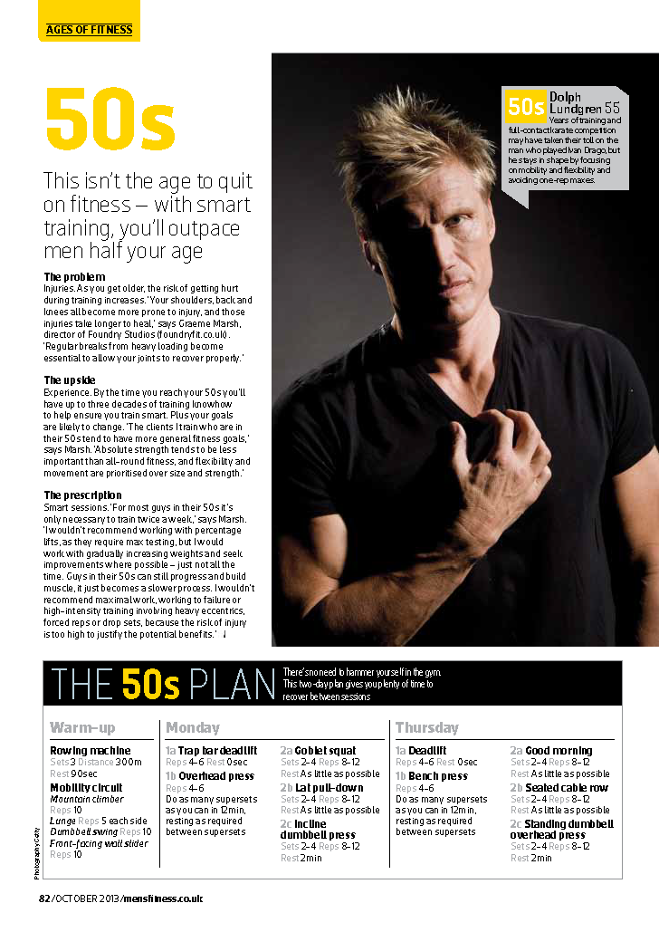 fit for life mens fitness