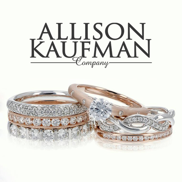Allison Kaufman - Allison-Kaufman is one of the oldest and most respected diamond jewelry artisans in the US. For three generations, Allison-Kaufman has earned its reputation as one of the world's finest jewelry manufacturers. The production of an Allison-Kaufman piece begins with the selection of the most brilliant diamonds and gems to be hand crafted into beautifully styled designs. Only after a meticulous team of jewelers inspects for quality and craftsmanship does a piece become Allison-Kaufman jewelry and receive the distinct AK trademark.