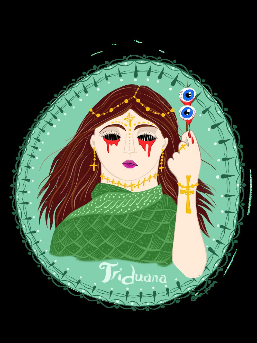 Triduana, or St. Tredwell