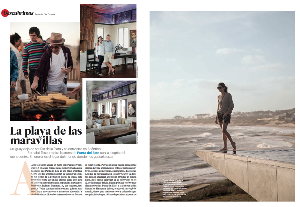 Conde Nast Traveler Spain by Diego Zuko - Click here to see the full travel guide