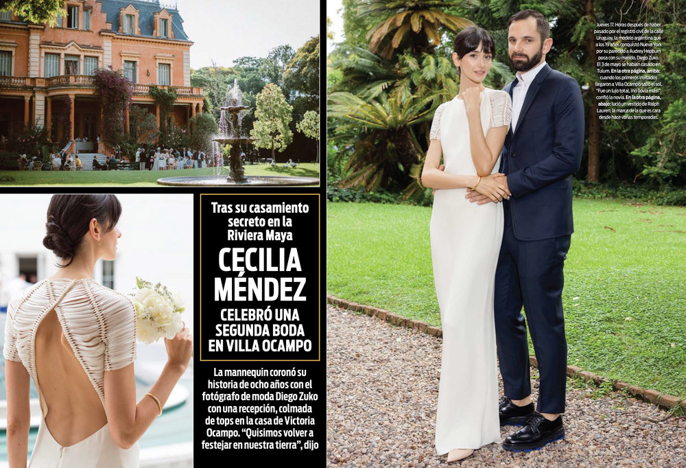 Our Wedding featured in ¡HOLA! Argentina - In collaboration with Four Seasons Buenos Aires
