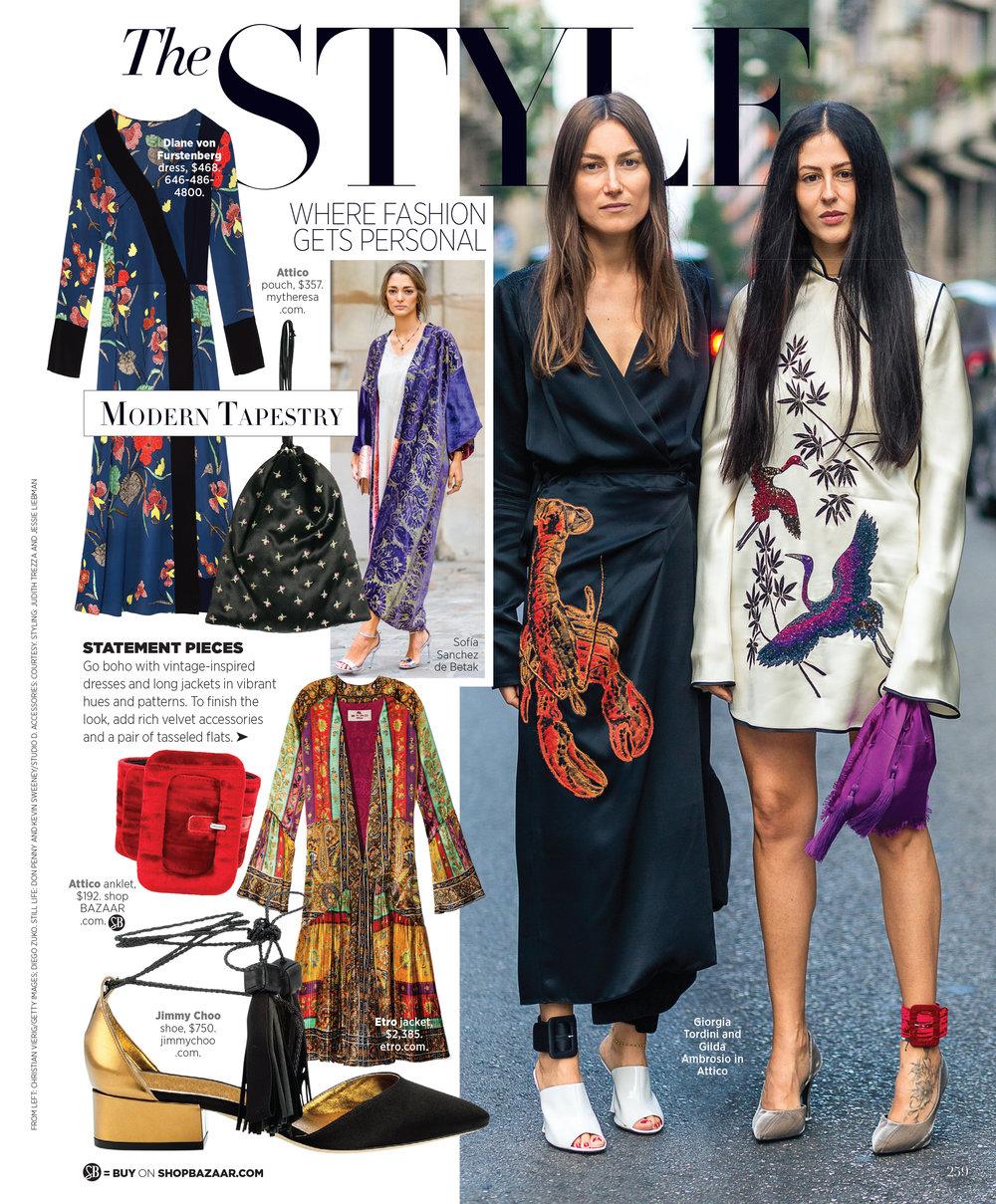 The STYLE Harper's Bazaar US print -