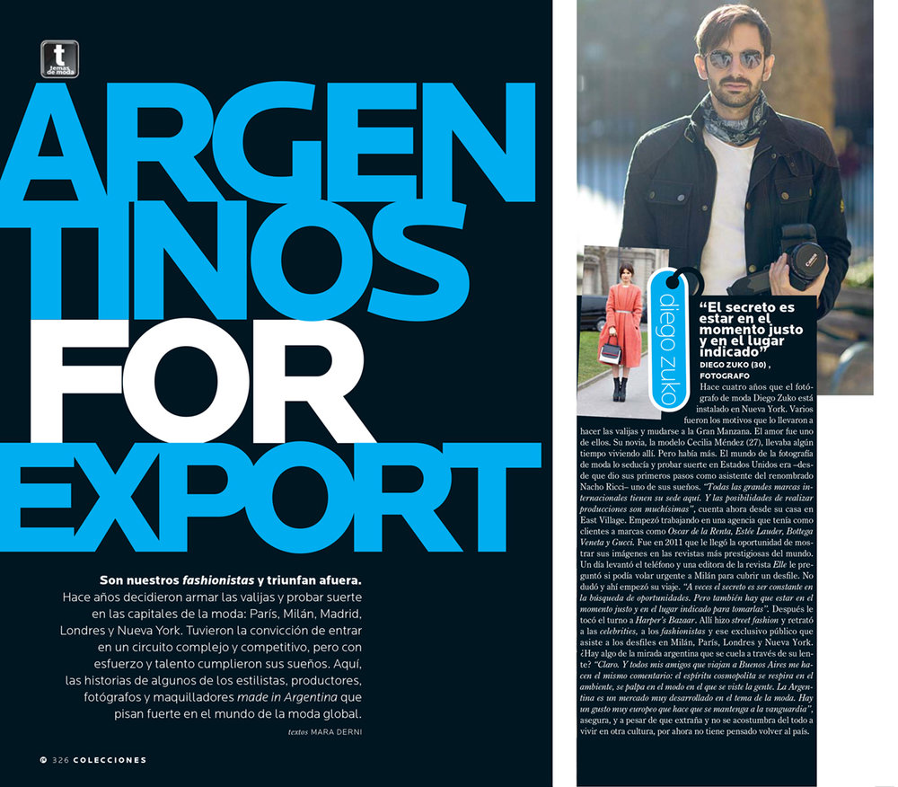 Diego Zuko's Interview for ParaTi Magazine -