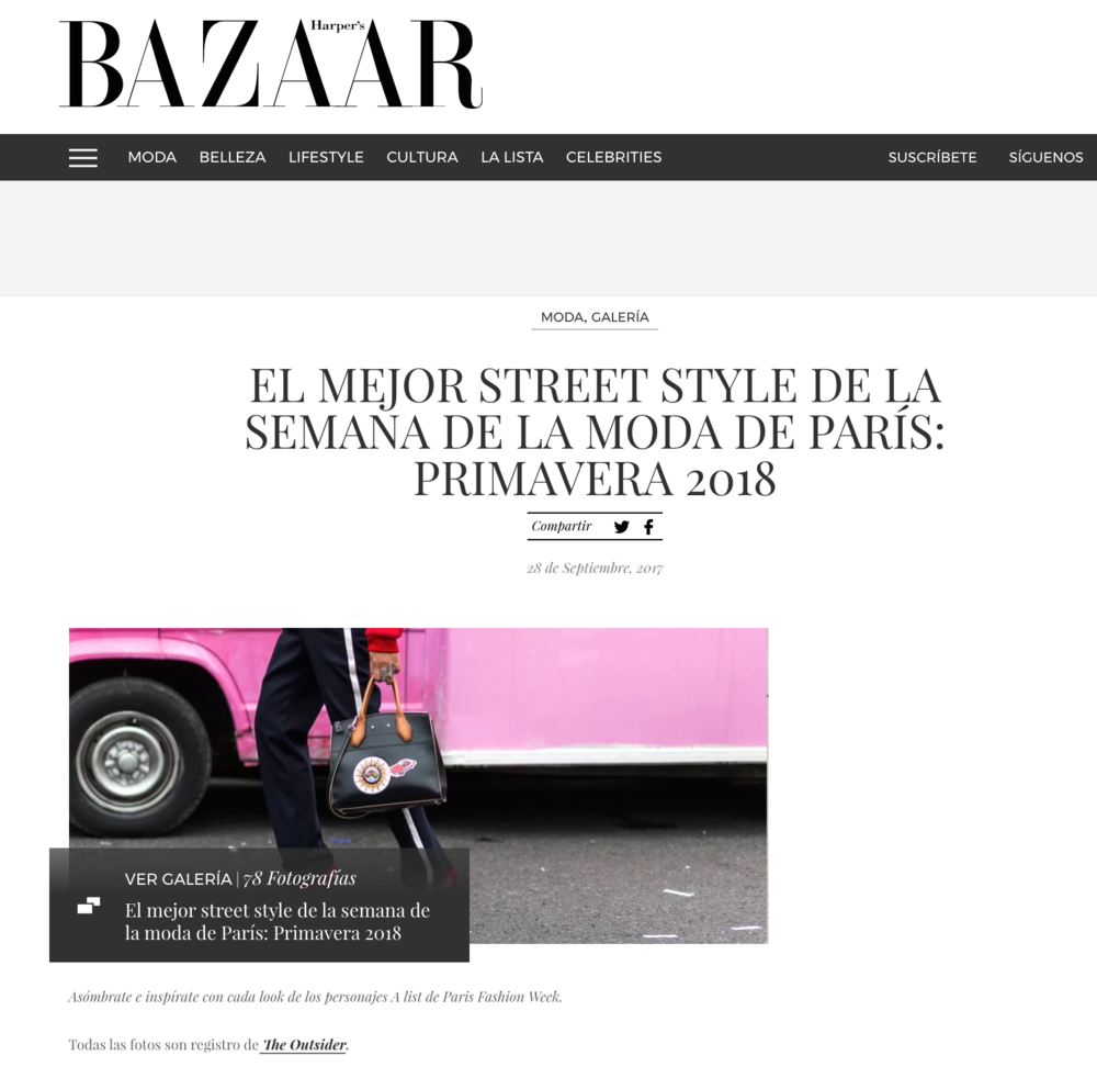 Street Style Coverage for Harper's Bazaar Chile - Click here to see the full Coverage