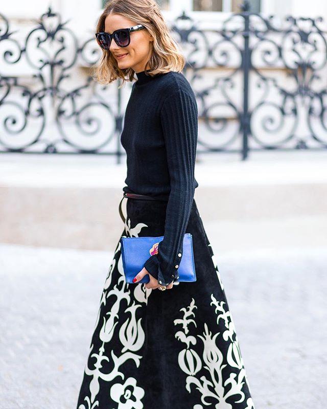 Looking sharp @oliviapalermo 👌🏼 #pfw #parisfashionweek #streetstyle #streetfashion #ss18 #theoutsiderblog #diegozuko