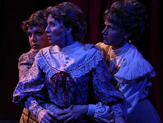 Allie, Mattie and Bess Earp