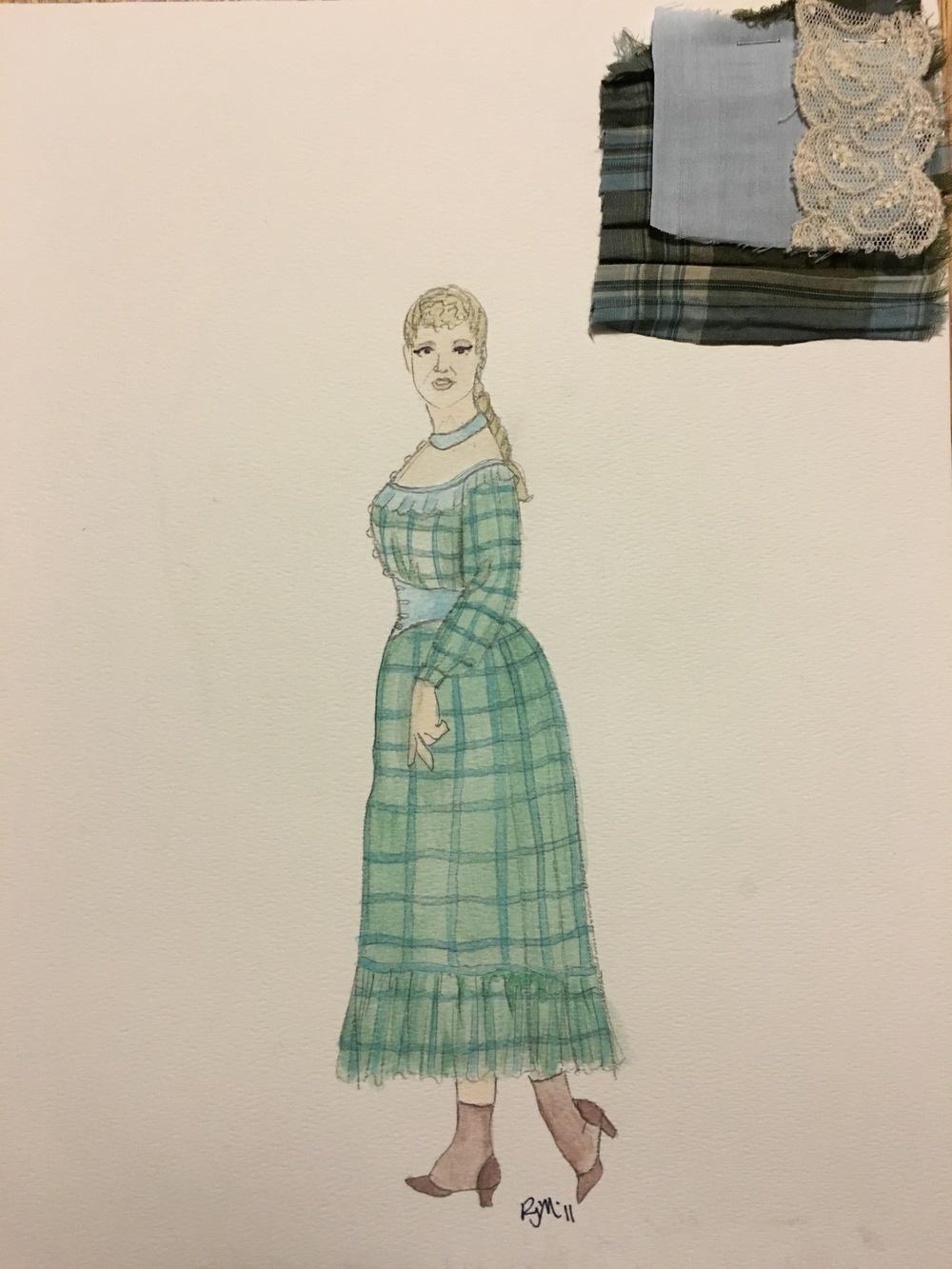 Sketch for Hattie