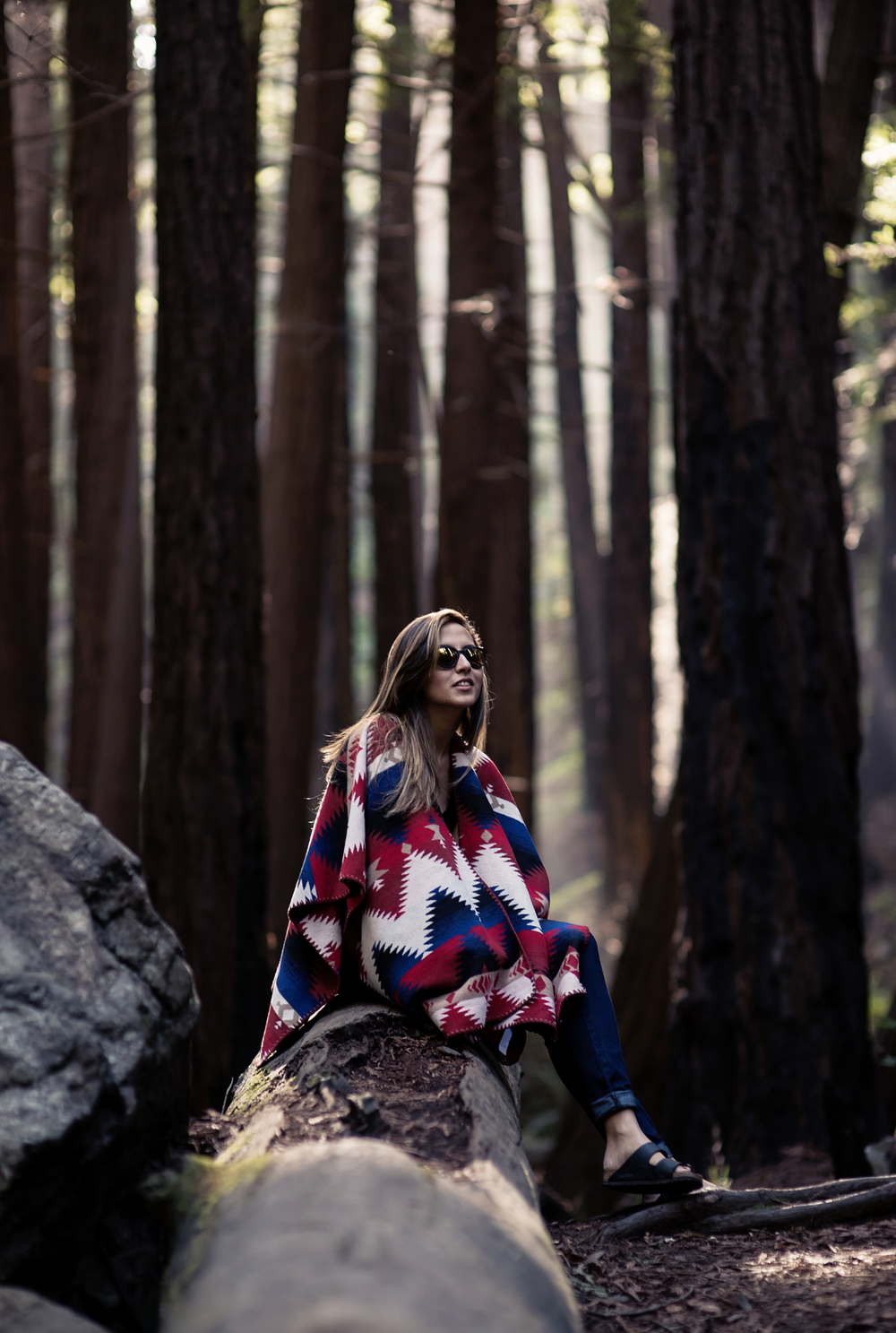 poncho_forever21_woods_fashionblogger