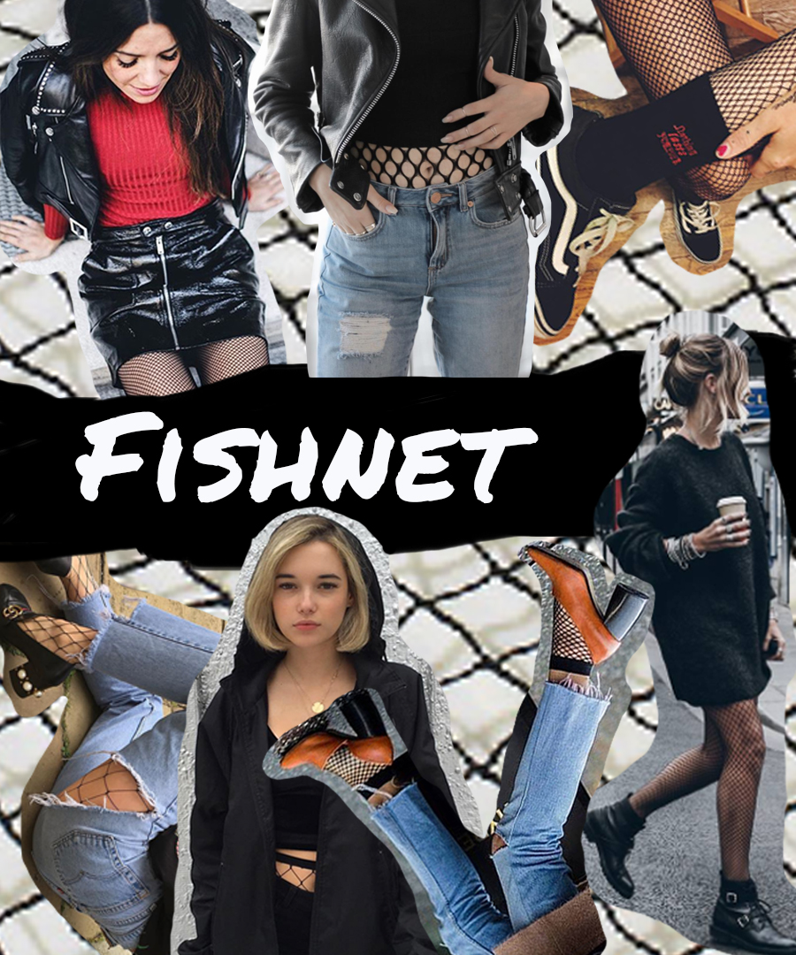 Trend: Fishnet Tights