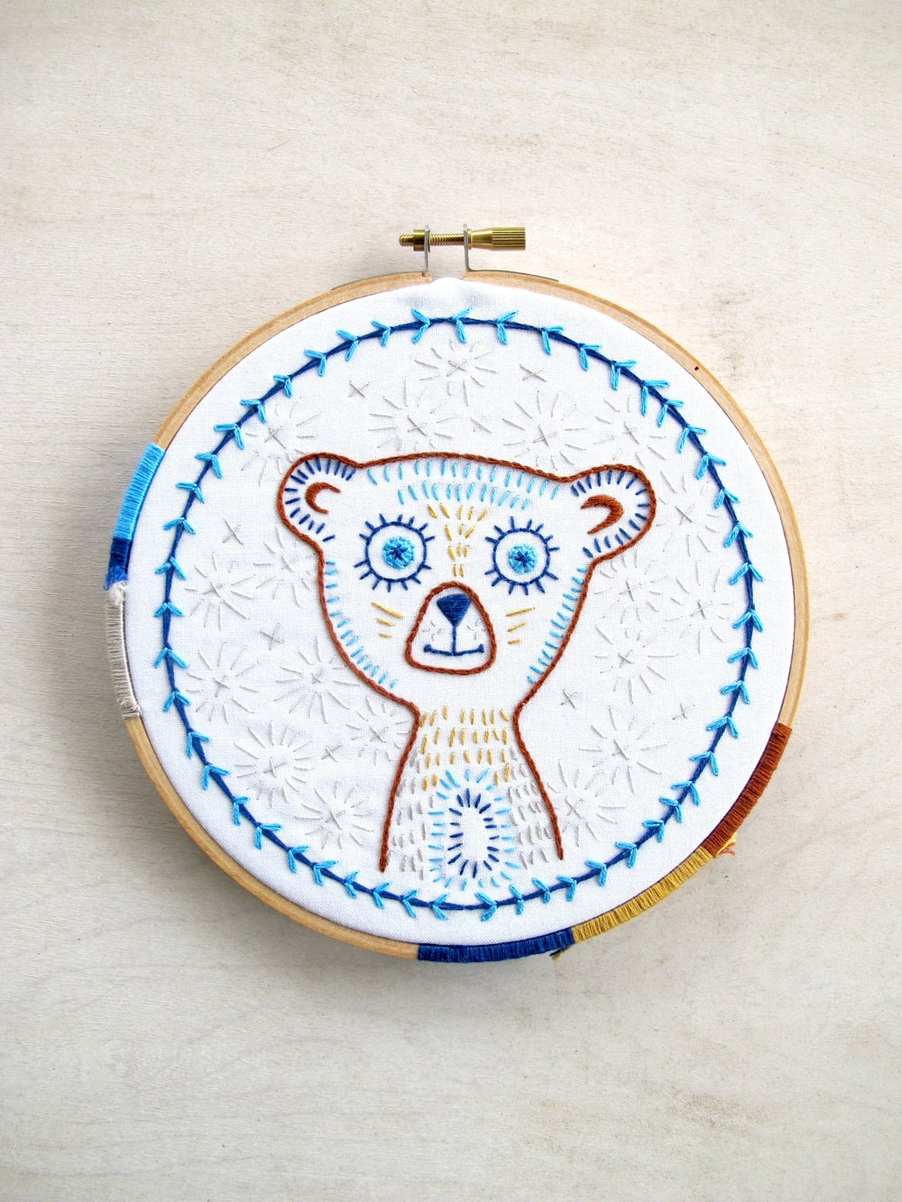 november :: blinky bear