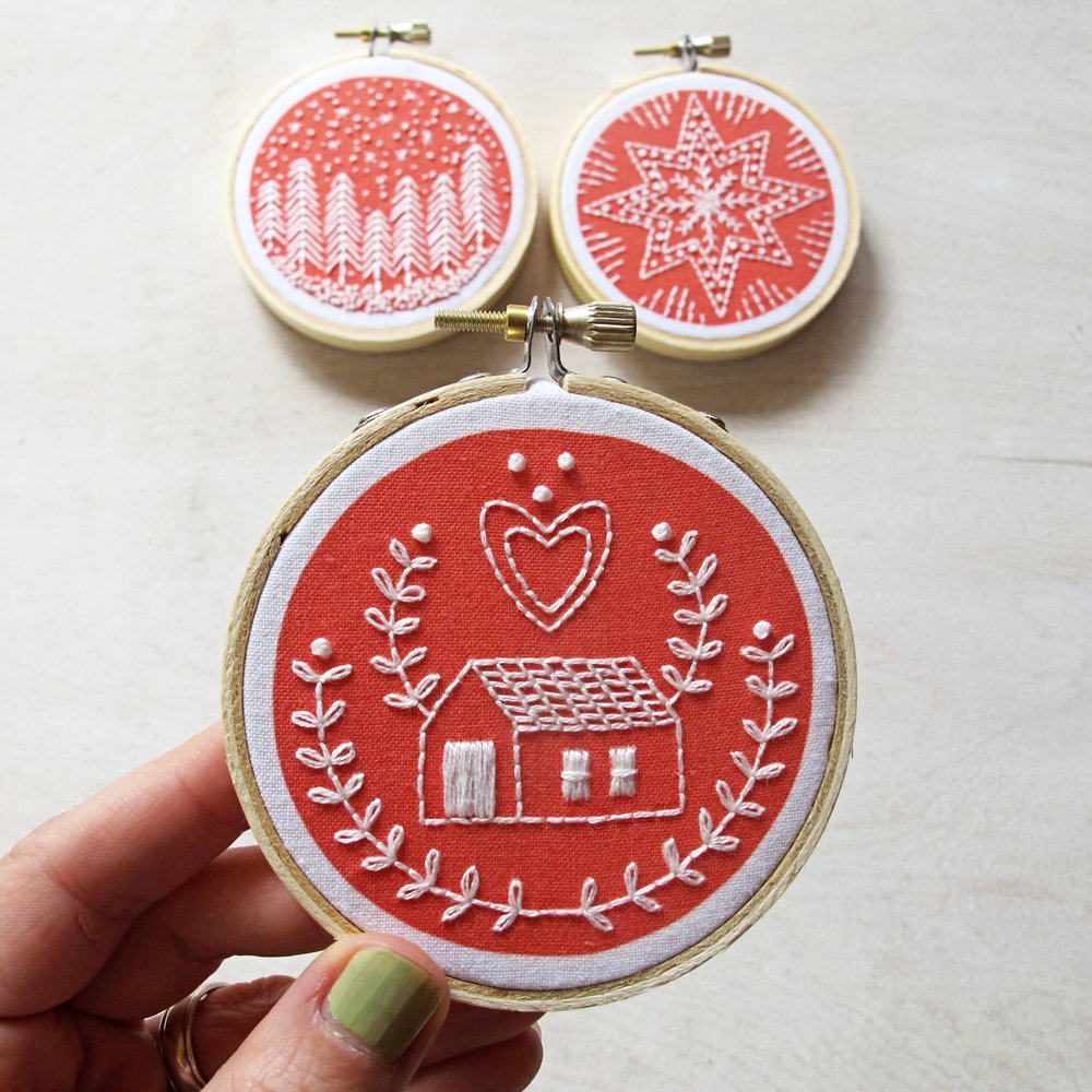 october :: holiday ornaments
