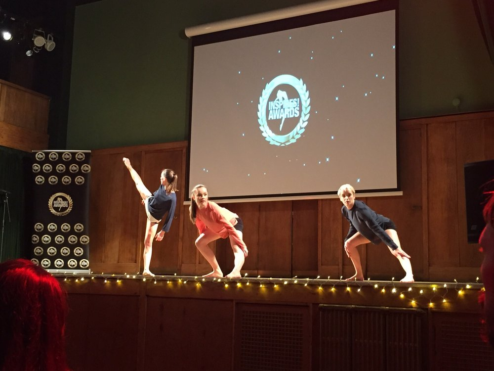 INSPIRES! Awards     ★        Dance London @ Conway Hall, London 201