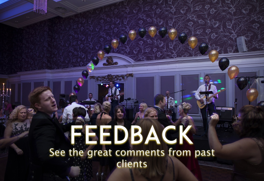 View the great comments from past clients