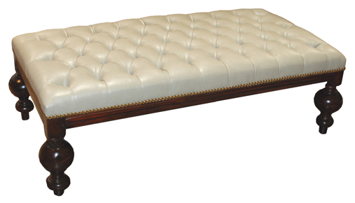 british colonial tufted ottoman coffee table - Tufted Ottoman Coffee Table