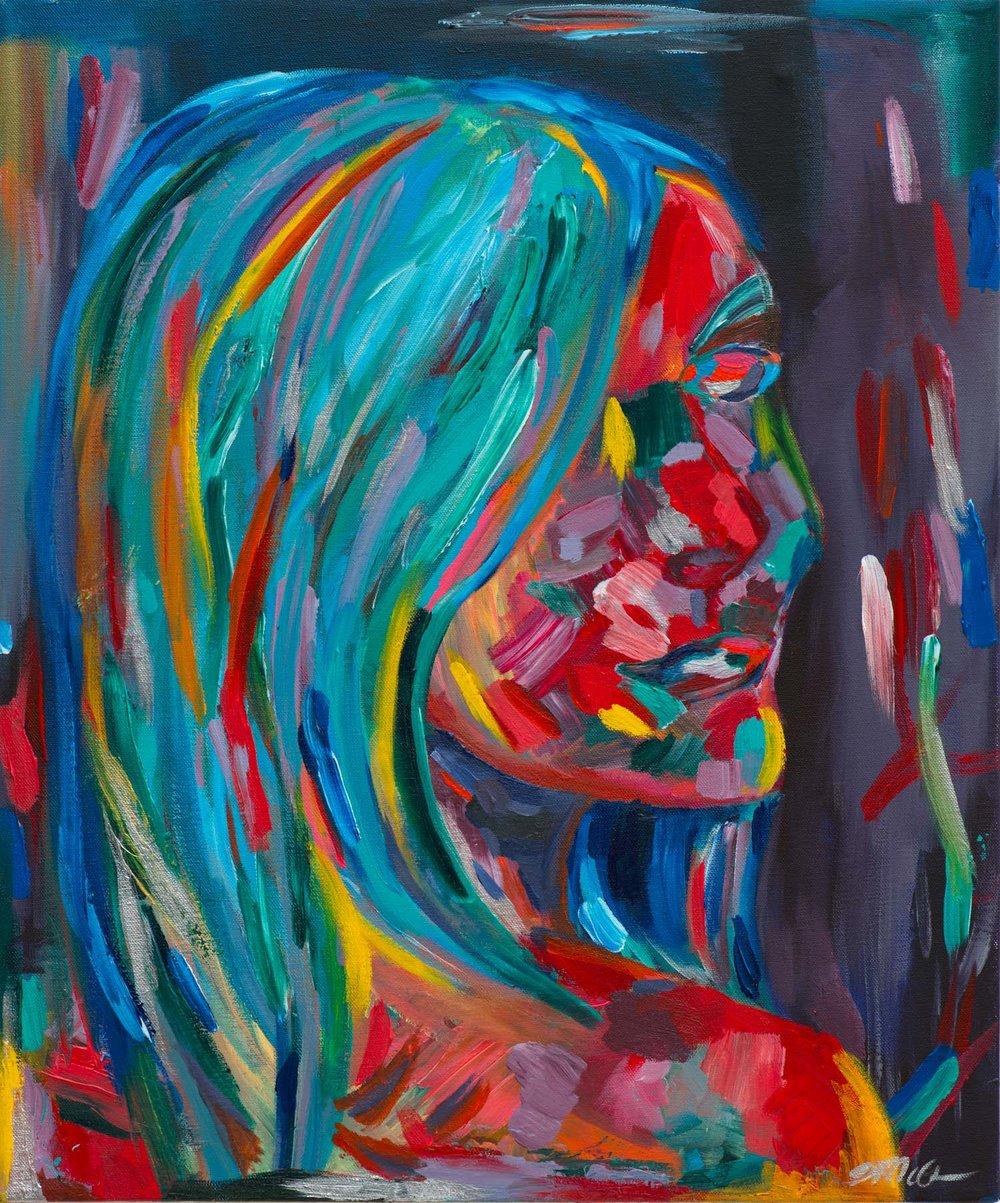 Portrait, Kamila