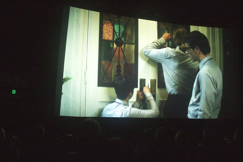 "Short films on the big screen: ""Vivienne Again"" screening at HollyShorts 2012"