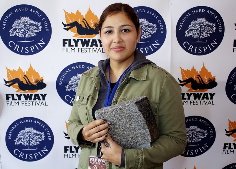 Sometimes REALLY crazy things happen at film festivals: Winning an award at the Flyway Film Festival 2012