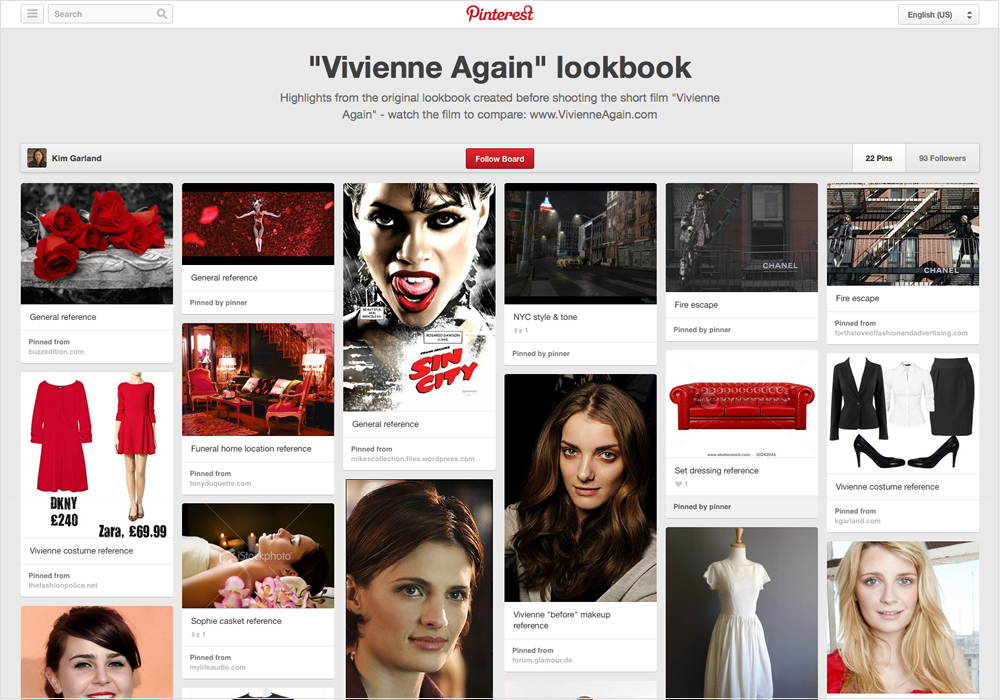 """Vivienne Again"" lookbook on Pinterest."