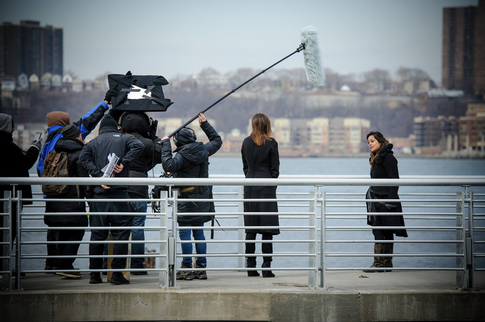 On location shooting THE END OF MARA. It all began with the script! | Photo: Nick Coleman