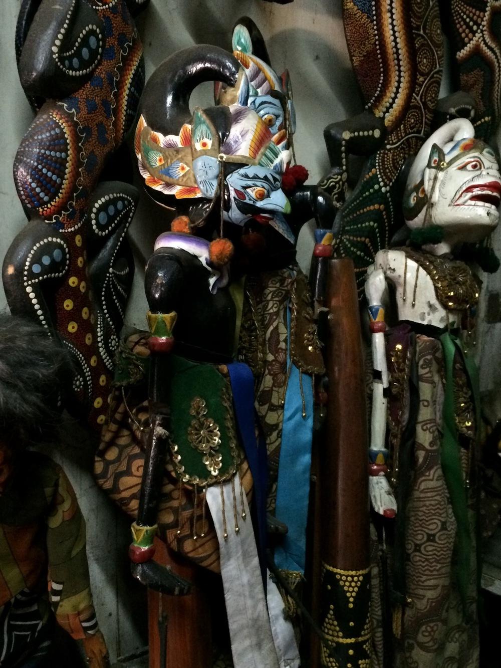 Sita in puppet form