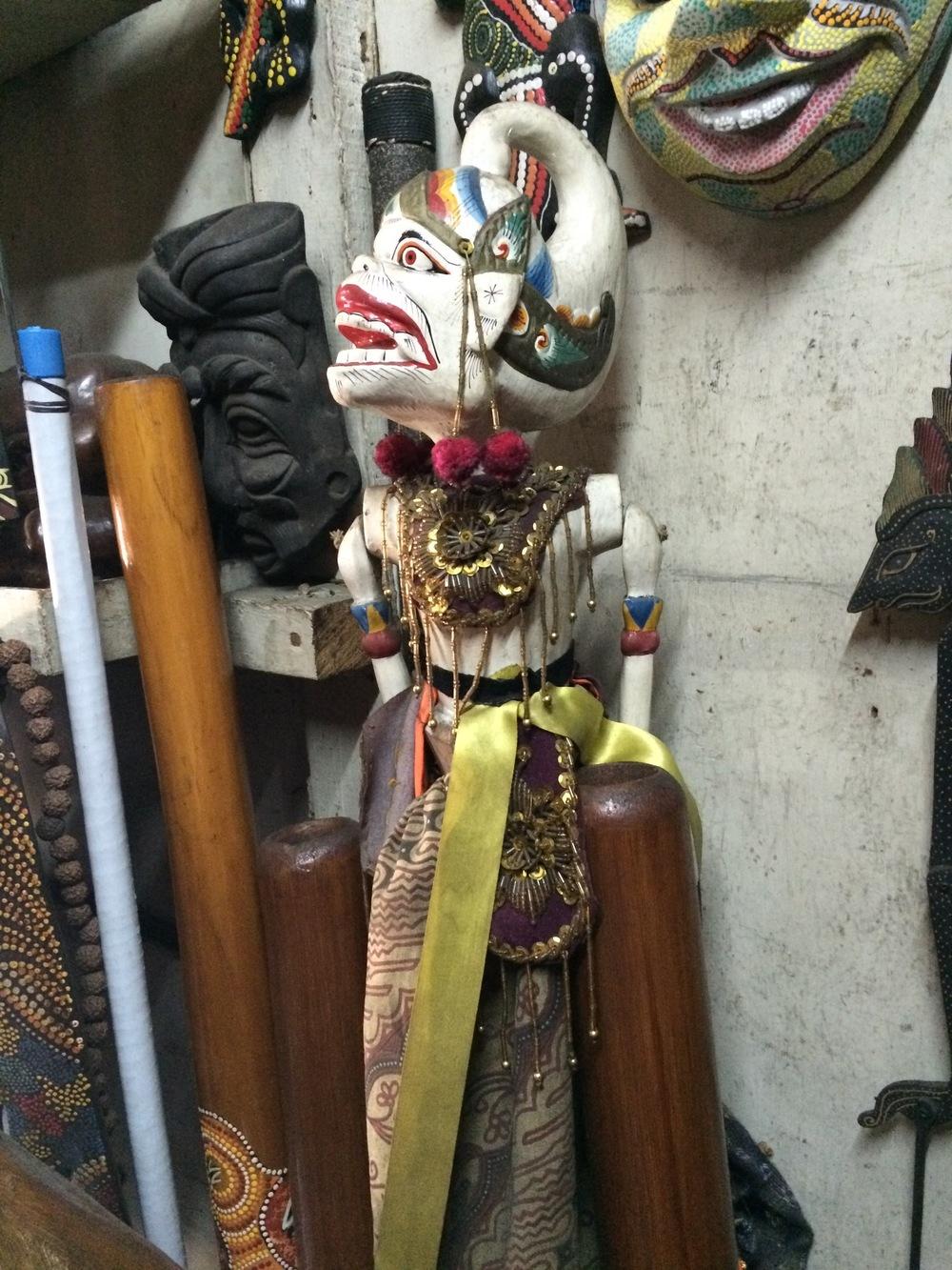 Hanuman in puppet form