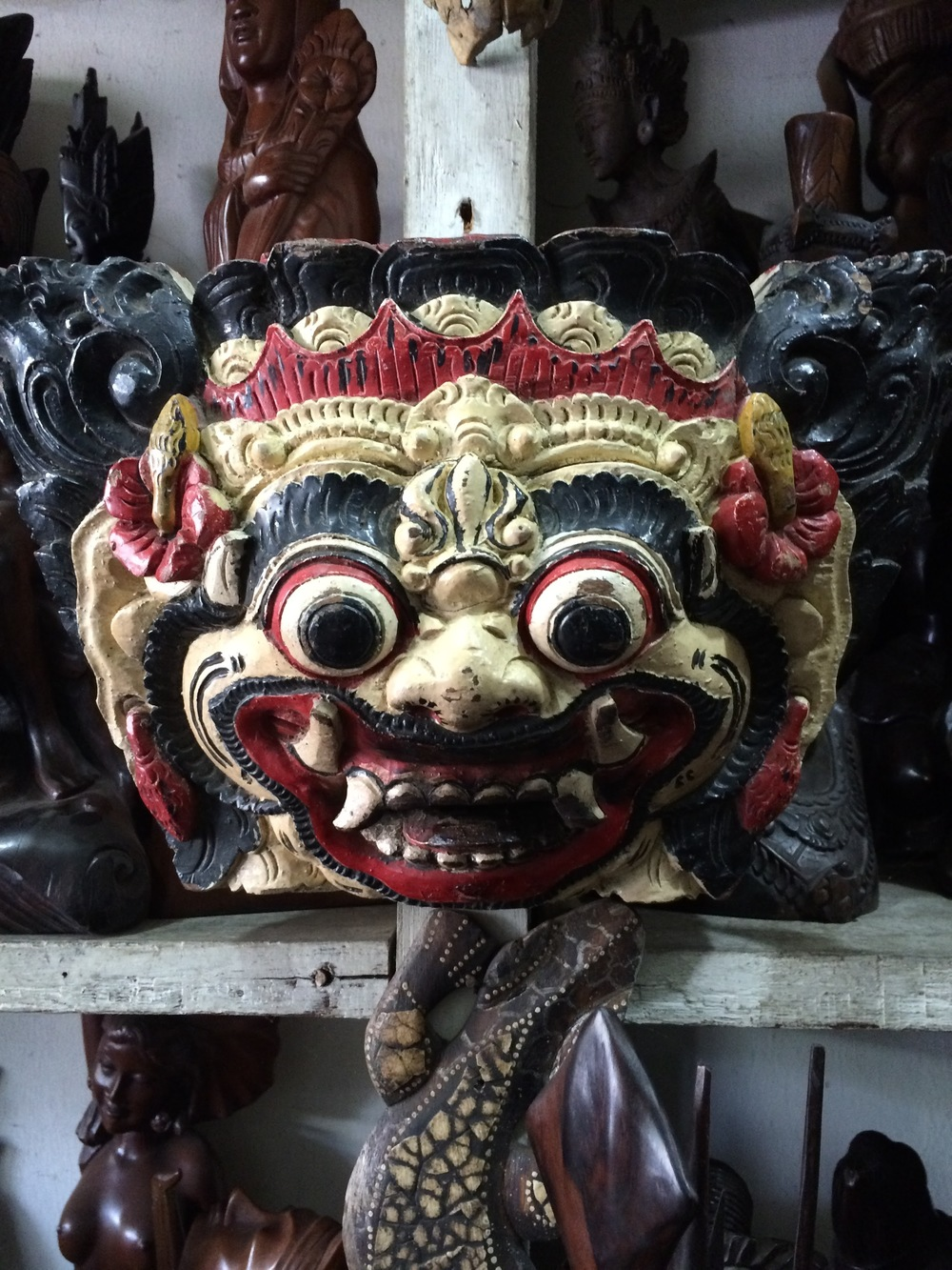 Mask from Bali
