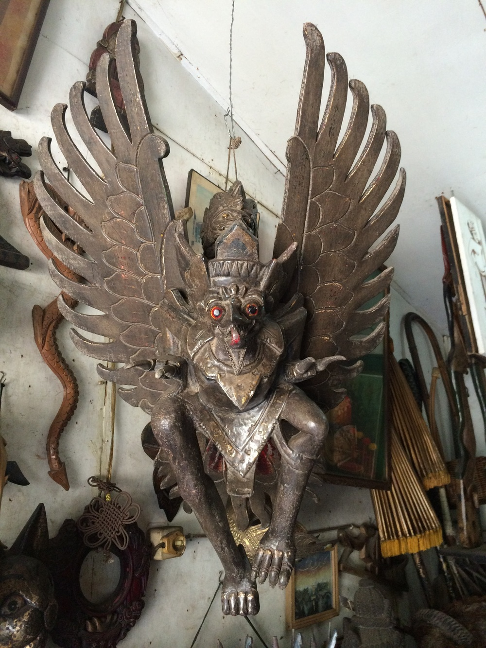 Garuda in all his glory. #notcreepy
