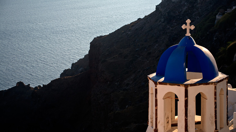 Cúpules de Santorini