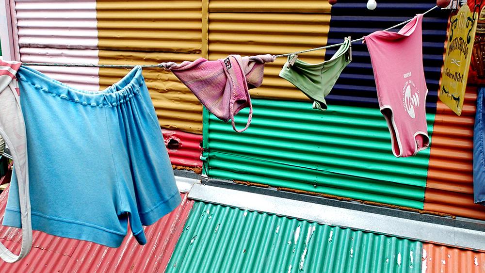 El barride Boca, un dels més populars de Buenos Aires,sinònim de colors, tango i fútbol