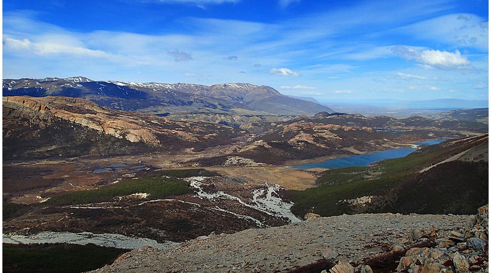 El Chaltén, un petitpobleaïllatenvoltat de valls i muntanyes