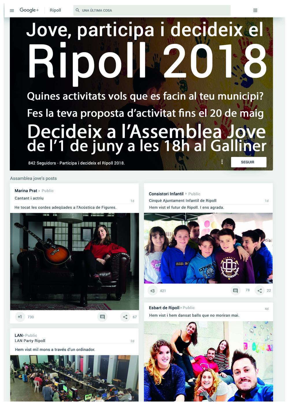 Disseny fulletó per la campanya : Una última cosa de l'Ajuntament de Ripoll.