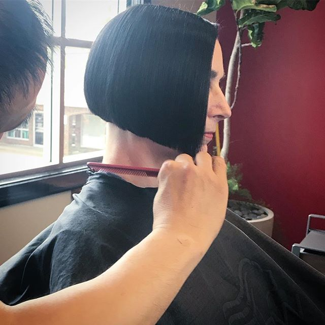 😲😲😲Tony putting the finishing touches on THIS masterpiece 🤯🤯🤯 • • • @tony_bhair