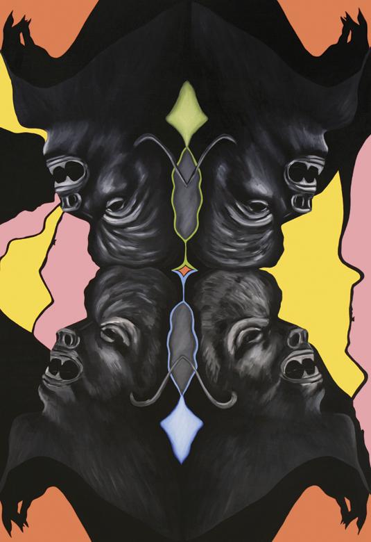 """""""Grotesquerie 8"""" (Wolfman) Grotesque Series 2011-2012"""