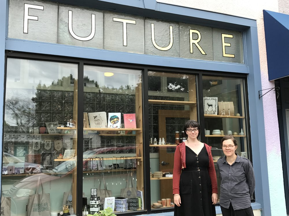 Mari and Lacey Prpic Hedtke, director of The Future artist residency