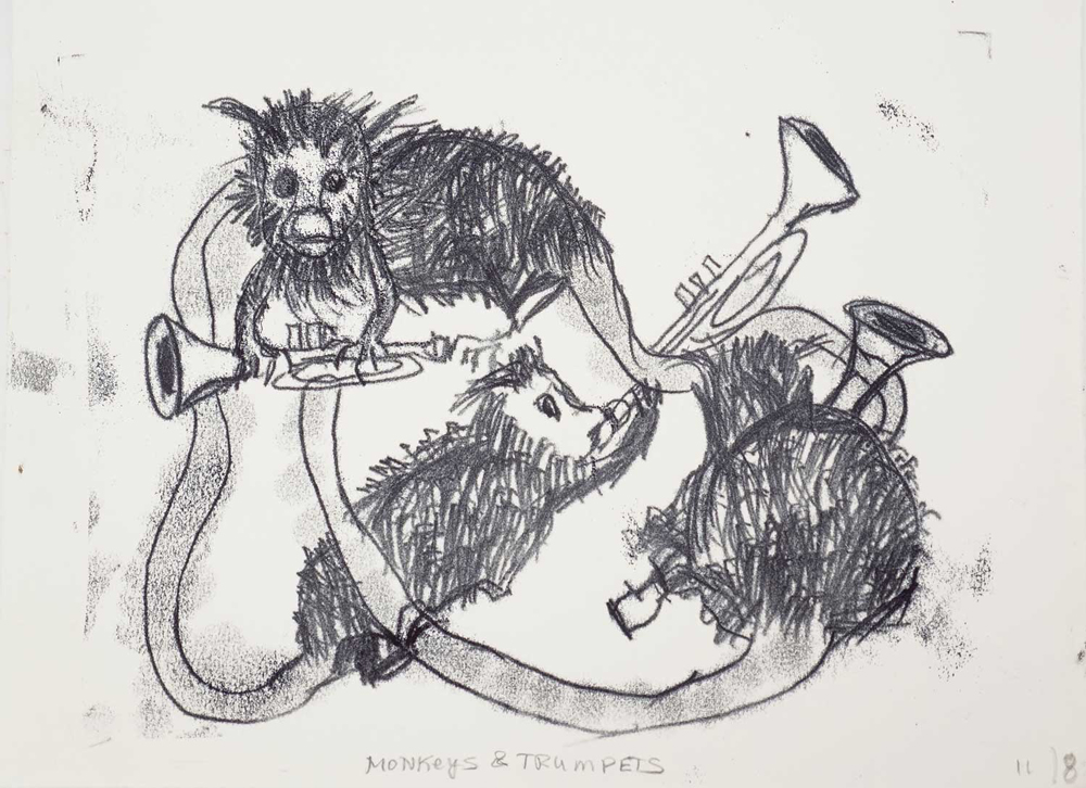 Monkeys/Trumpets