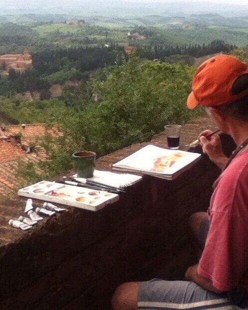 Tuscany, Italy Creative Retreat: Tenuta di Spannocchia, 2018