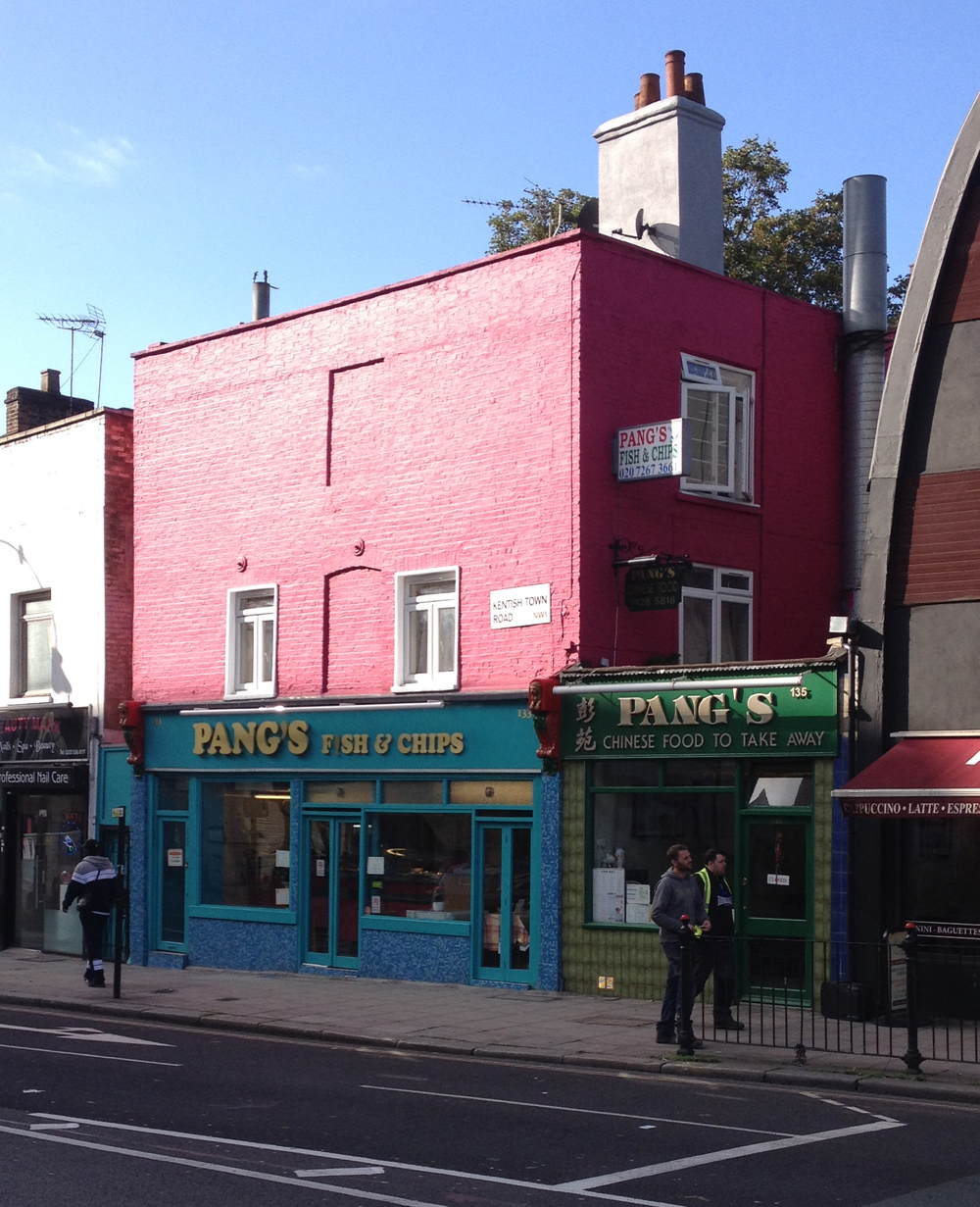Pang's:one of the oldest buildings in Kentish Town