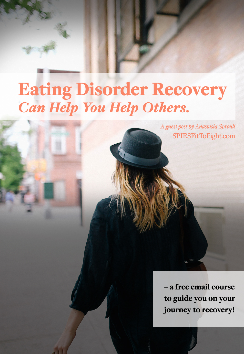 Eating disorder recovery is possible! Find out how Anastasia Sproull turned her eating disorder into something quite positive.